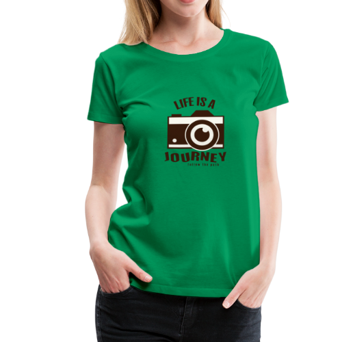 Life is a Journey - Frauen Premium T-Shirt