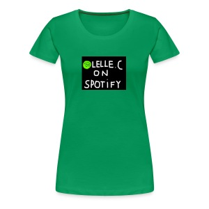 lelle.c on spotify - Premium-T-shirt dam