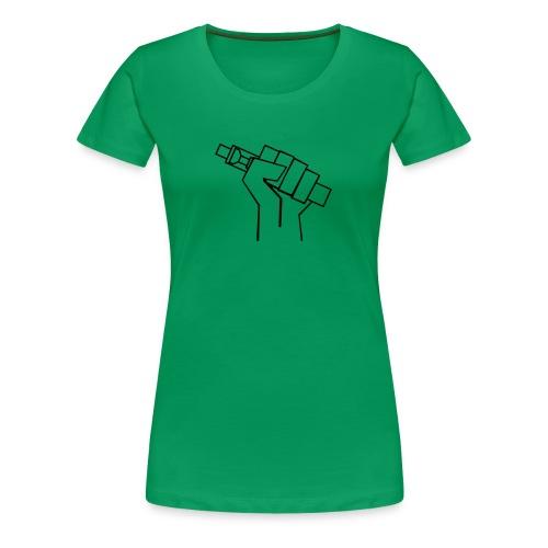 Vapefist - Dampferfaust - Frauen Premium T-Shirt