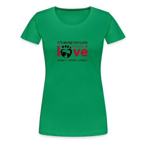 adpot2 - Frauen Premium T-Shirt