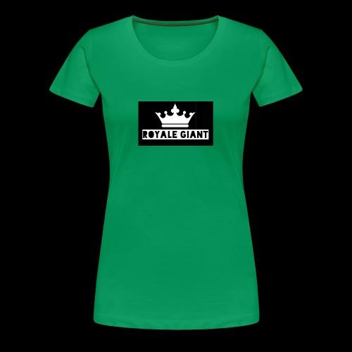 T-shirt Royale Giant - Vrouwen Premium T-shirt