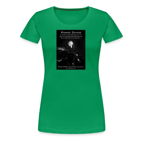 Piano divas official poster - Women's Premium T-Shirt