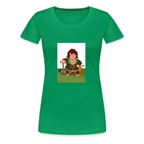 Petal's Potted Preserve - Women's Premium T-Shirt