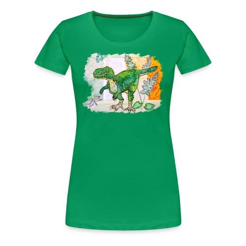 T rex - Women's Premium T-Shirt