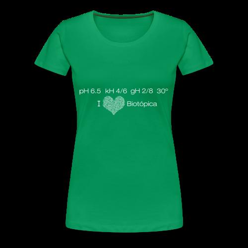 Condiciones Químicas Disco - Man - Camiseta premium mujer