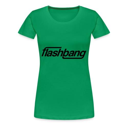 FlashBang Enkel - 100kr Donation - Premium-T-shirt dam