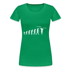 Evolution de l'homme:Point de côté...j'abandonne ! - T-shirt Premium Femme