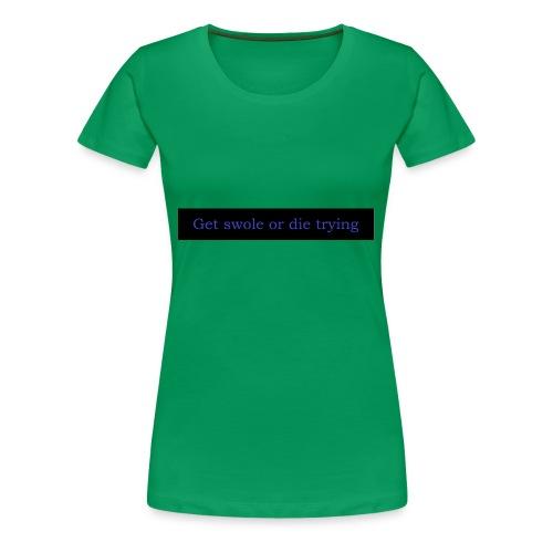 swole2 - Premium-T-shirt dam