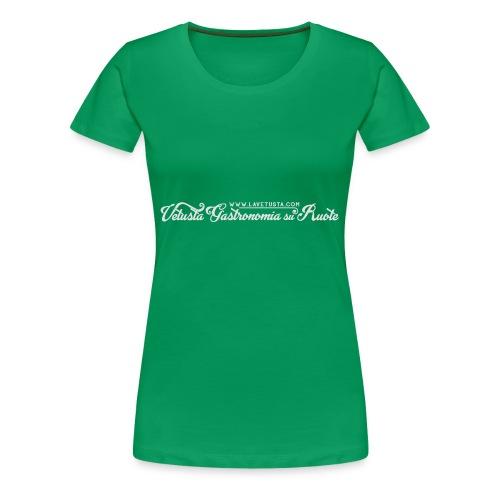 VET_bianco_sito - Maglietta Premium da donna