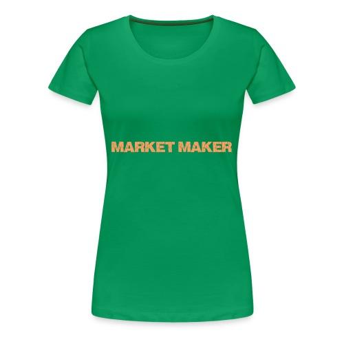 MM Piké - Premium-T-shirt dam