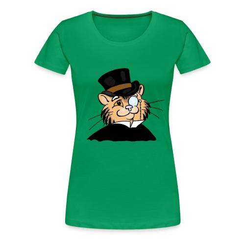 Gatto nonno - Maglietta Premium da donna