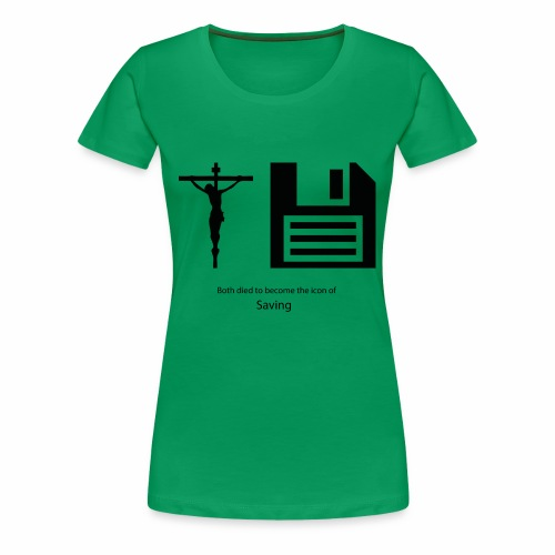 The icons of saving - Frauen Premium T-Shirt