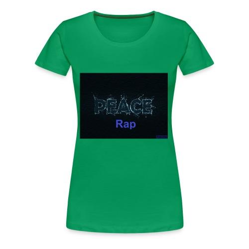 Peace Rap - Frauen Premium T-Shirt