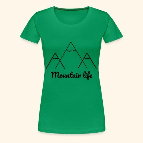 logo montagne 2 - T-shirt Premium Femme