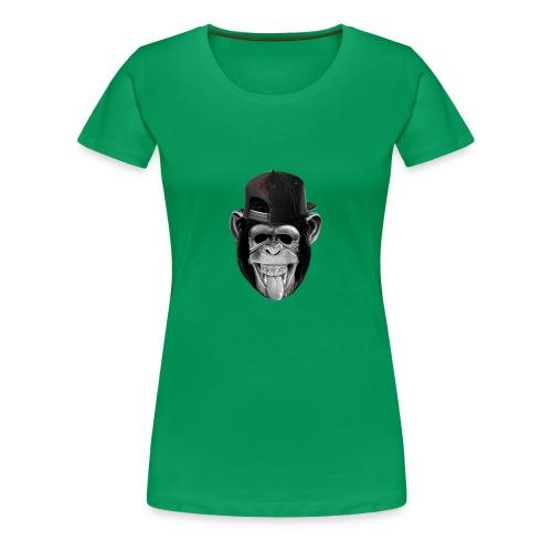Logo Crazy Monkey - Maglietta Premium da donna