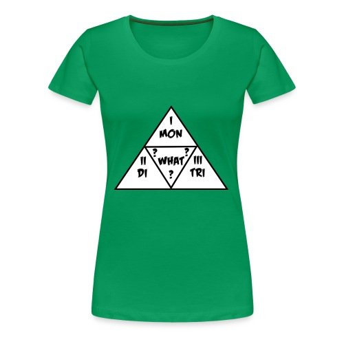 Mon_Di_Tri_What? Black Desert Tri Force - Frauen Premium T-Shirt