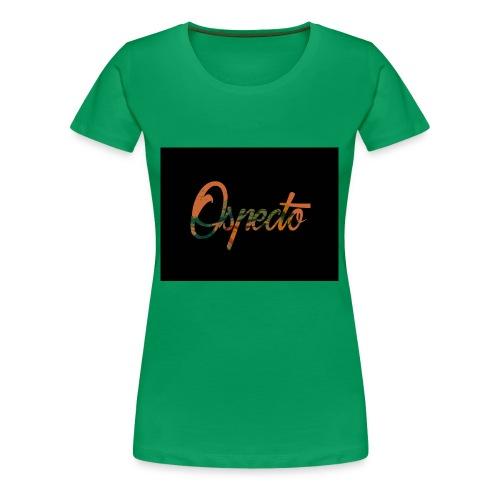 Ospecto logo - T-shirt Premium Femme