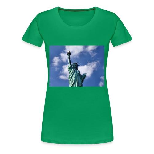 Freiheitsstatue - Frauen Premium T-Shirt