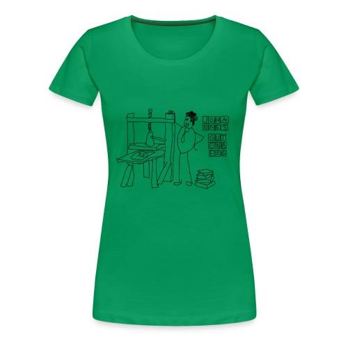 Gutenberg - Camiseta premium mujer