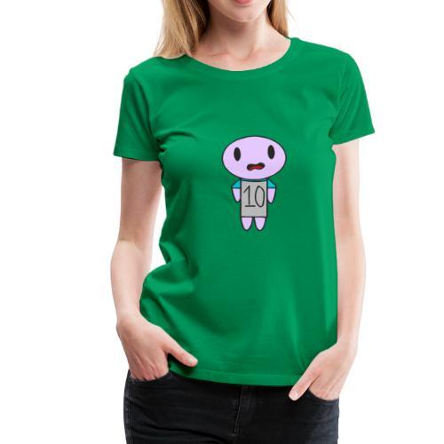ahhhh ten on a t-shirt - Women's Premium T-Shirt