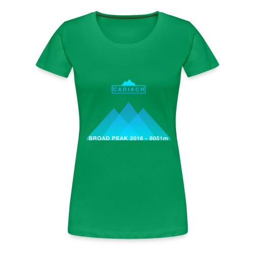 Cadiach Broad Peak 2016 - Hombre - Camiseta premium mujer