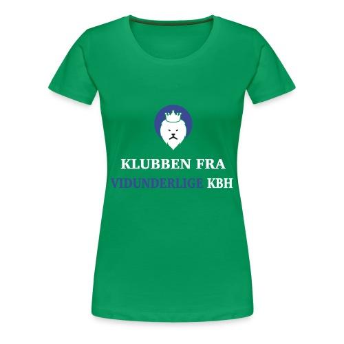 Klubben fra vidunderlige KBH - Dame premium T-shirt