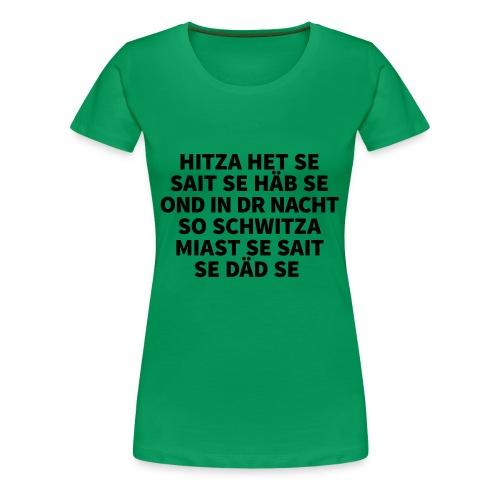 Hitza - Frauen Premium T-Shirt