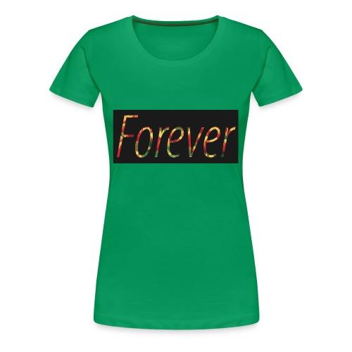 Forever Clothing Black Flowers T-shirt Men - Vrouwen Premium T-shirt