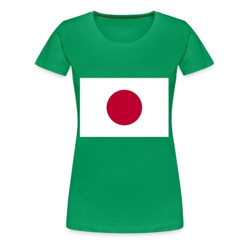 Small Japanese flag - Women's Premium T-Shirt