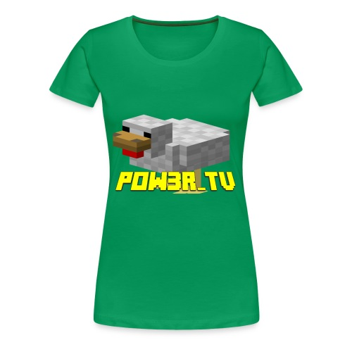 POW3R-GAIZ - Maglietta Premium da donna