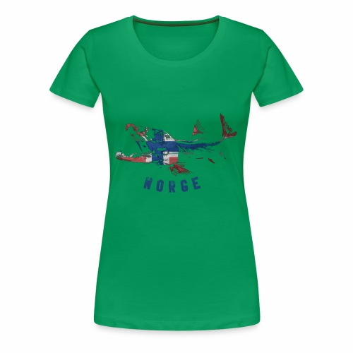 SALMON nor - Frauen Premium T-Shirt