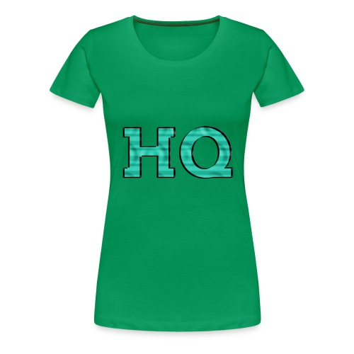 HQ LOgo 2 - Vrouwen Premium T-shirt