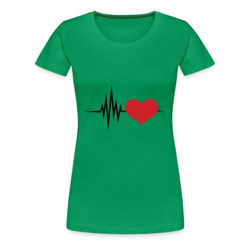 Latiendo por tu amor - Camiseta premium mujer