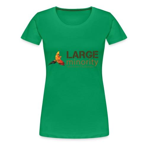 Large Minority Logo - Women's Premium T-Shirt