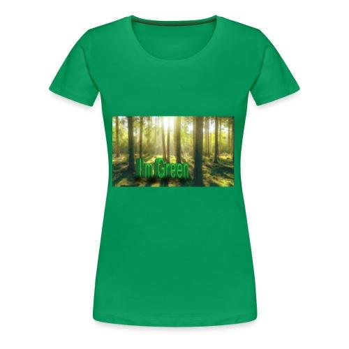 I'm Green. - Premium-T-shirt dam