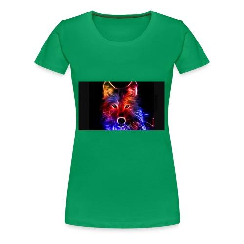 Bluewildgamer - Women's Premium T-Shirt
