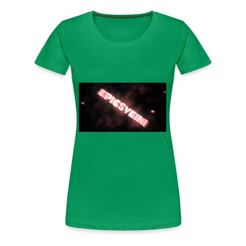 Epicsveini Musemappe - Premium T-skjorte for kvinner