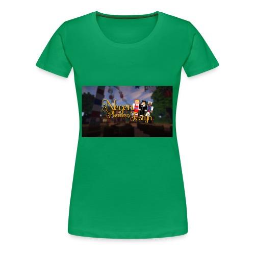 Posterlogo2 - Vrouwen Premium T-shirt