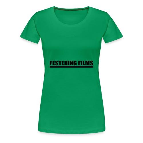 Festering Films Logo (Black) - Women's Premium T-Shirt