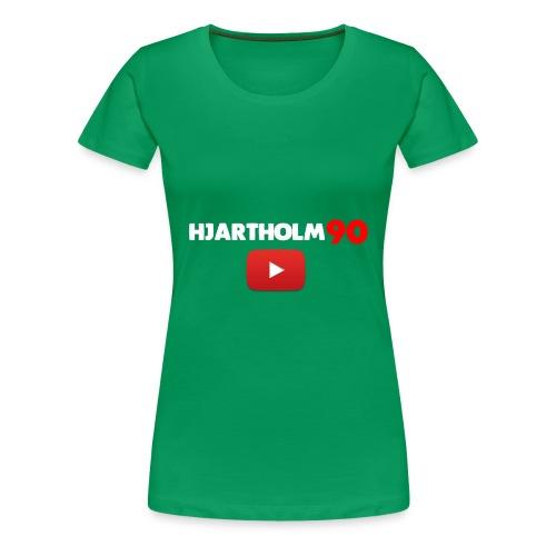 hjartholm90 2017 - Premium T-skjorte for kvinner