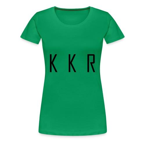 kkr - Vrouwen Premium T-shirt