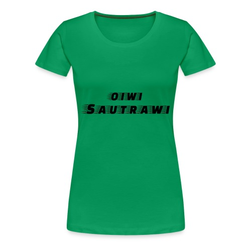 oiwi_sautrawi - Frauen Premium T-Shirt