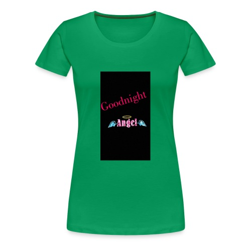 goodnight Angel Snapchat - Women's Premium T-Shirt