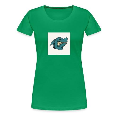requin mascotte weelax - T-shirt Premium Femme