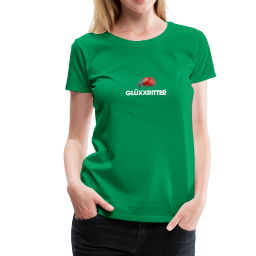 geweihbär GLÜXXRITTER - Frauen Premium T-Shirt