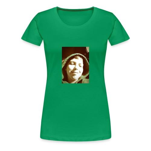 mooie cap erg in - Vrouwen Premium T-shirt