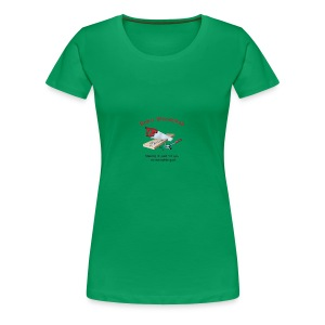 Woodshop robs shop gear - Women's Premium T-Shirt