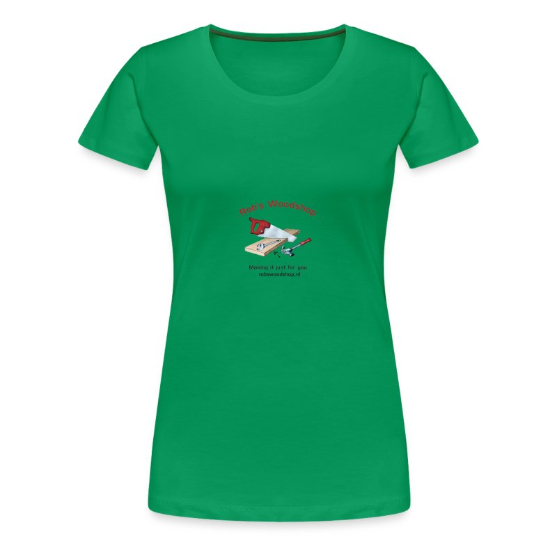 Woodshop robs shop gear - Women's Premium T-Shirt