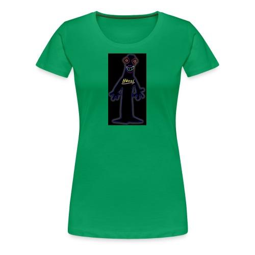 Techno-Hütti - Frauen Premium T-Shirt