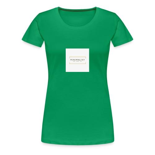 Minimalist - T-shirt Premium Femme
